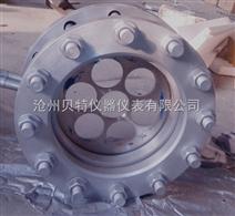 西安环形孔板/平衡孔板/限流孔板/法兰夹装链接zui方便