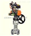DN50-专业生产气动带手动机构球阀