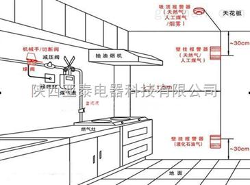 ytrb-c 厨房煤气泄漏探测报警器