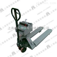 YCS清单打印铲车电子磅秤,3吨手动叉车磅,带打印电子叉车秤