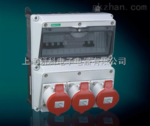 防水配电箱 黑龙江塑料密封箱 组合工业插座箱