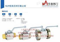 QJH-40B_板式高压球阀