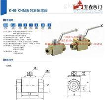 KHB-1/4NPT_内螺纹高压球阀