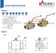 KHB-3/4NPT_内螺纹高压球阀