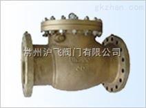 铸钢氧气止回阀HY44W-25P