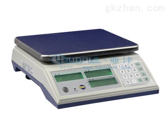 亚津6公斤电子上海计数秤