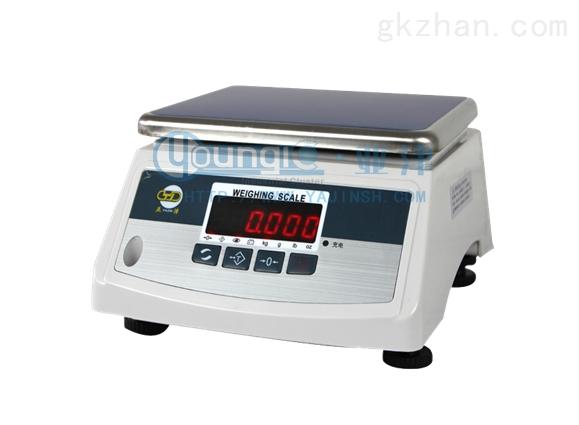 上海亚津15kg双面电子防水秤