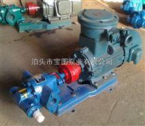 防爆齿轮泵结构及工作原理询泊头宝图泵业