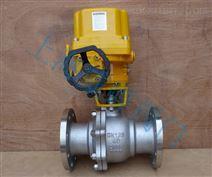 石油燃气电动防爆球阀