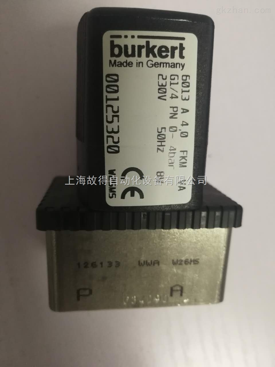 burkert6013 A 电磁阀带手动开关的有哪些