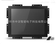 17寸嵌入式工业红外电阻触控显示器电容触摸屏液晶智能显示器4:3正屏