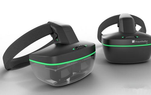 Fraunhofer FEP新VR头显 在OLED屏上集成眼动追踪元件