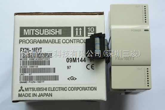 原装FX2N-16EYT三菱PLC模块