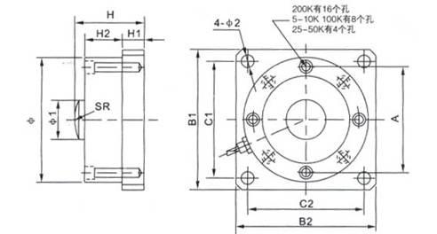 产品库 测试与监控 传感器 称重传感器 gy-2 轮辐式传感器  输出电阻