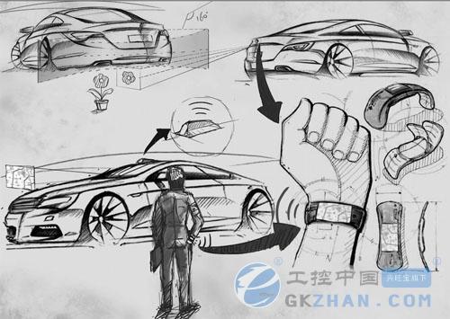 工控中国 产品库 图片新闻 乐视新能源汽车设计草图曝光     摘要:有