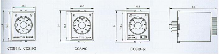1c电子式时间继电器