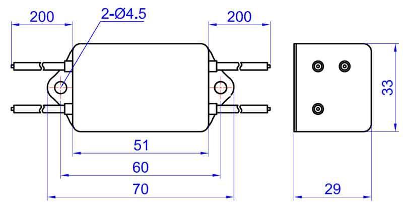电源纹波滤波器