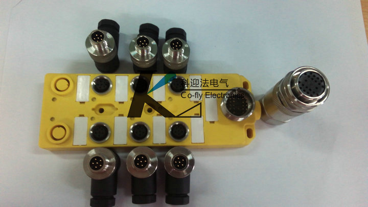 传感器用M12接线盒