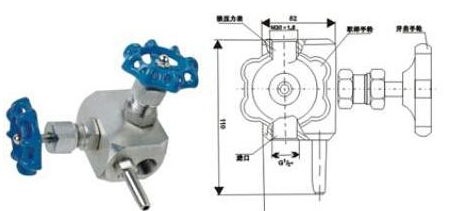 11f高压密封取样阀|gmj11h高压密封取样阀产品结构图