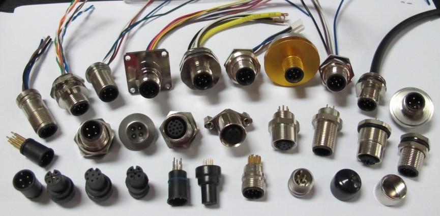 传感器插座M12