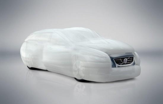 谷歌无人驾驶车变身 大白 保护行人免撞伤高清图片